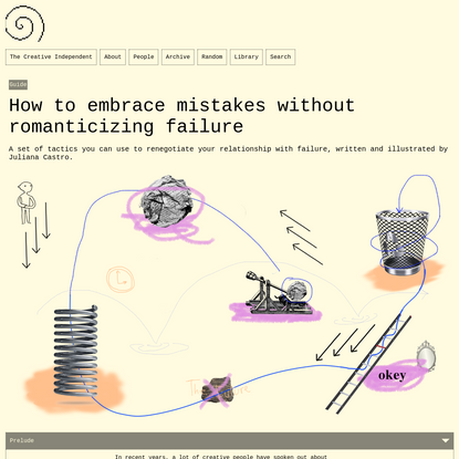 How to embrace mistakes without romanticizing failure