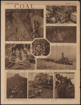 Coal newspaper