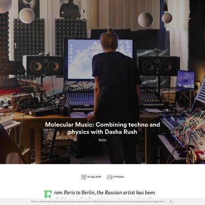 Molecular Music: Combining techno and physics with Dasha Rush