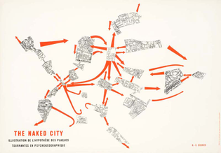 The Naked City by Guy Debord