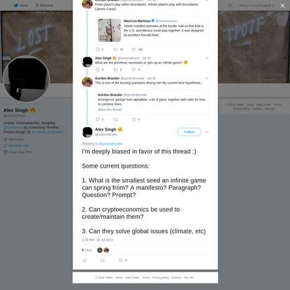 Alex Singh 🔥 on Twitter