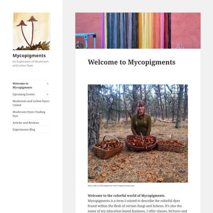 Mycopigments