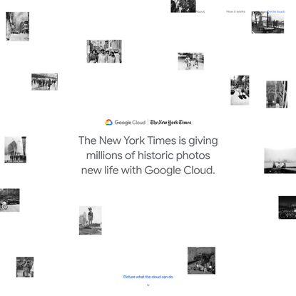 Picture what the cloud can do | Google Cloud