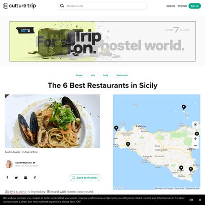 The 6 Best Restaurants in Sicily