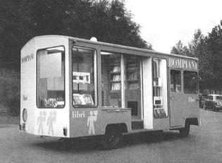 Enzo Mari, Traveling Library (1955)
