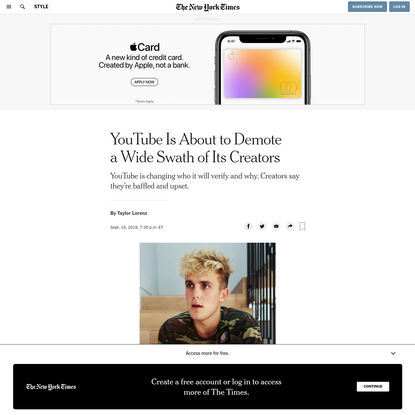 YouTube Is About to Demote a Wide Swath of Its Creators