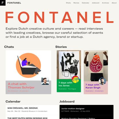 FONTANEL - Explore Dutch creative culture and careers