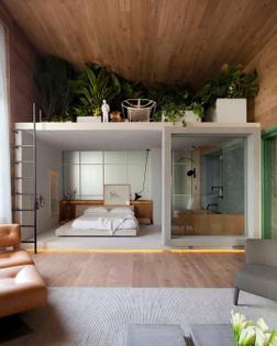 Loft Ninho by Nildo Jose Arquitetura. Casa Cor in São Paulo, Brazil
