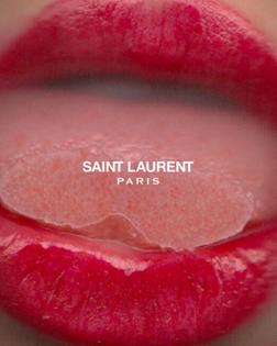 Red | Lip | Lipstick | Tongue | Mouth | SaintLaurent | Design | Poster | Kiss | Colour | tumblr_nzspjqxask1rftw2qo1_1280.jpg