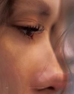 Girl | Woman | Face | Skin | Blur | Closeup | Orange | Sunlight | Colour | Portrait | HighResolution | People | tumblr_okljuovbfr1v74fzno2_1280.jpg