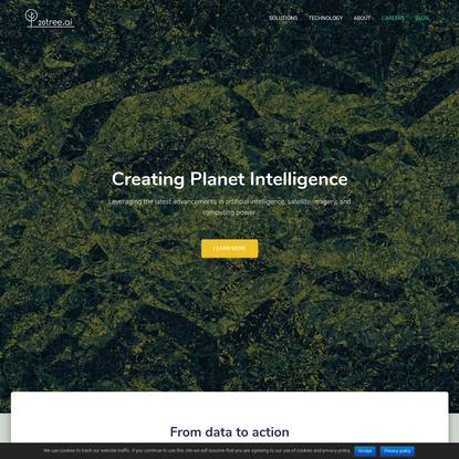 Creating Planet Intelligence