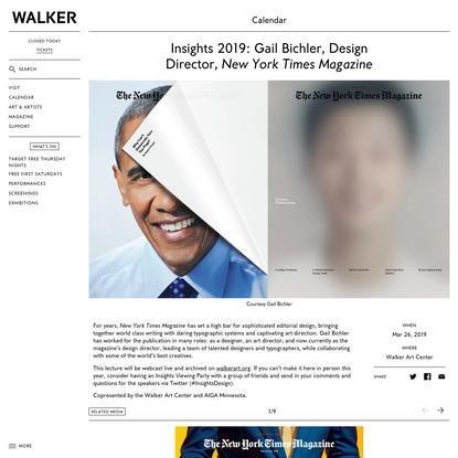 Gail Bichler, Design Director, New York Times Magazine