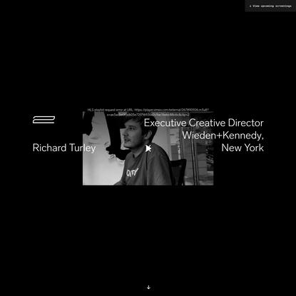 Frontiers of Design - Richard Turley