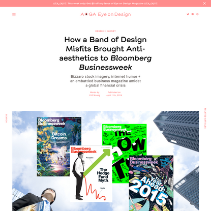How a Band of Design Misfits Brought Anti-aesthetics to Bloomberg Businessweek