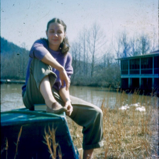 """Jane """"Slats"""" Slater was a student at Black Mountain College from 1940-45."""