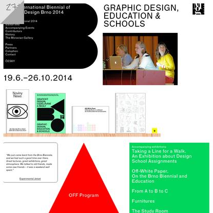 26th Brno Biennial 2014