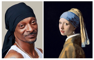 Snoop Dogg 2018 : Girl with a pearl earring 1665