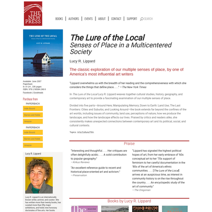The Lure of the Local   The New Press