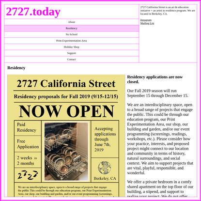 2727 California Street | Residency
