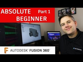 Fusion 360 Tutorial for Absolute Beginners- Part 1