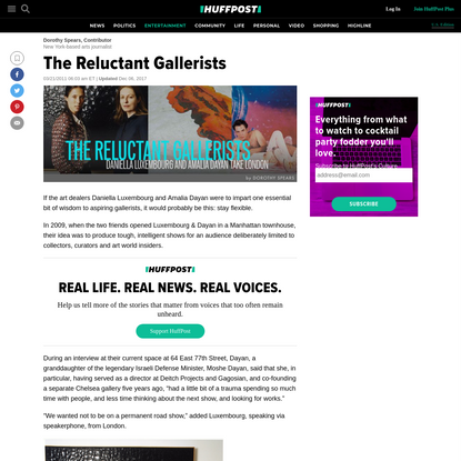 The Reluctant Gallerists