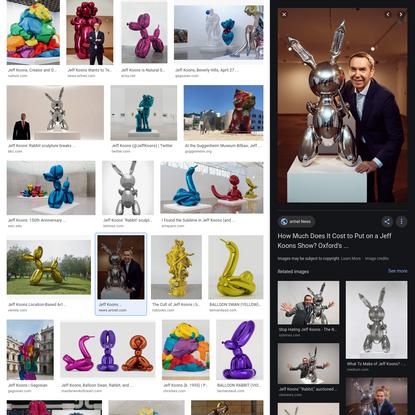 jeff koons - Google Search