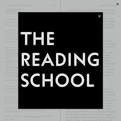 The Reading School