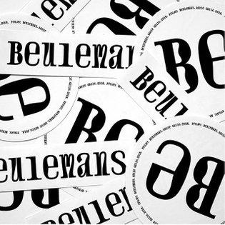 #Repost @adelegll ・・・ Projet Beulemans #type #typedesign #graphicdesign #lacambre #atelierdetypographie