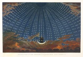 Set Design - The Magic Flute, Mozart (1791)