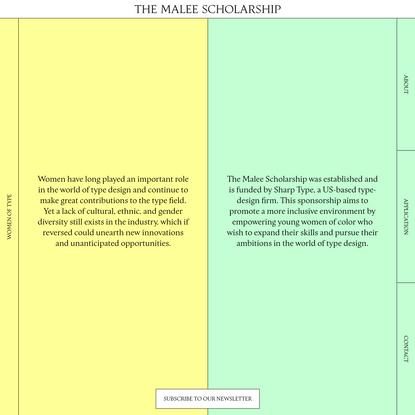 The Malee Scholarship