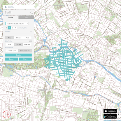 Bike Citizens Cycle Route Planner Berlin