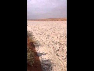 Sand river in iraq