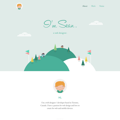 Seán Halpin - a web designer & developer - About