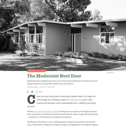 The Modernist Next Door