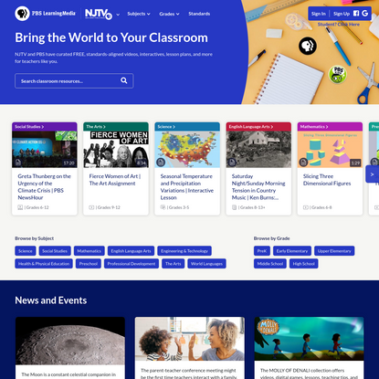PBS LearningMedia | Teaching Resources For Students And Teachers