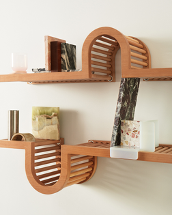 Wave Shelf by Home Studios