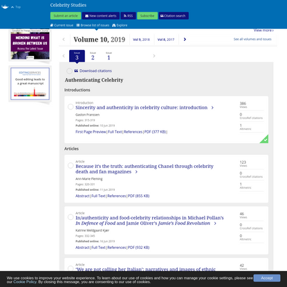Browse journals by subject