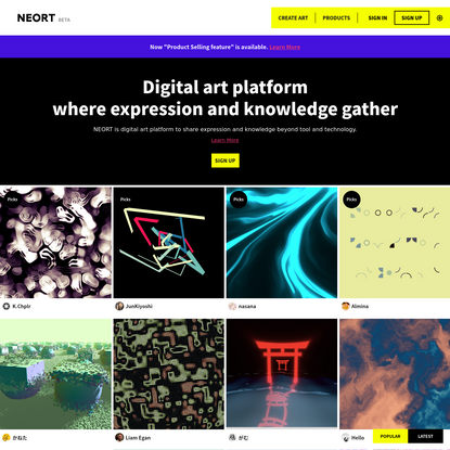 NEORT | Popular Arts