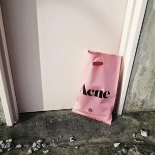 Pink | Package | Acne | Bag | Handbag | Millennial | tumblr_n6c1z2fhbg1qkzcg6o1_640.jpg