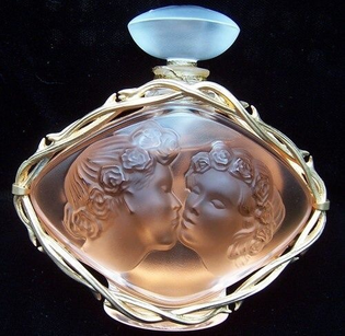 Rene Lalique perfume bottles