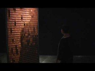 """Rust Mirror"" (2010) by Daniel Rozin"