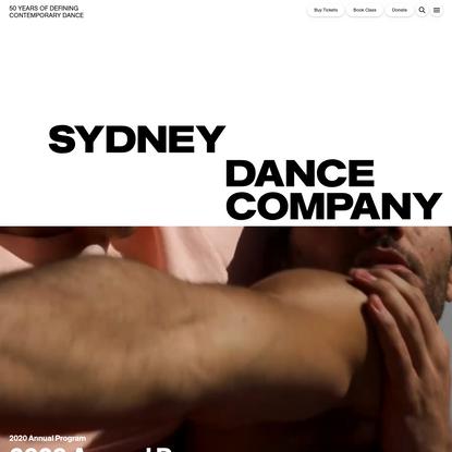 Home | Sydney Dance Company | Australian Contemporary Dance & Dance Classes