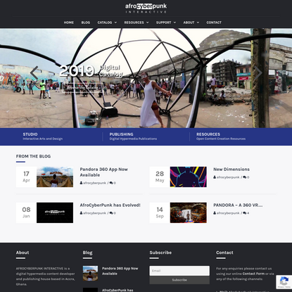 AfroCyberPunk Interactive - Digital Hypermedia Publishing