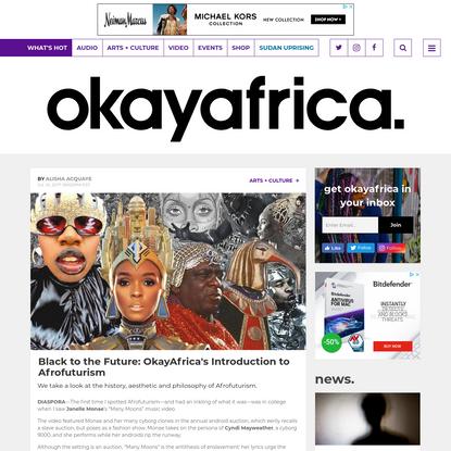 Black to the Future: OkayAfrica's Introduction to Afrofuturism