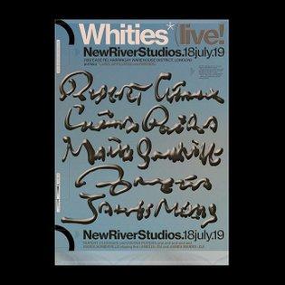 Whities Live at @newriverstudios 18th July 2019 Rupert Clervaux Cucina Povera Maria Somerville Amelia James Marrs Tix availa...