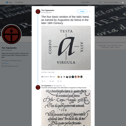 Tiro Typeworks on Twitter