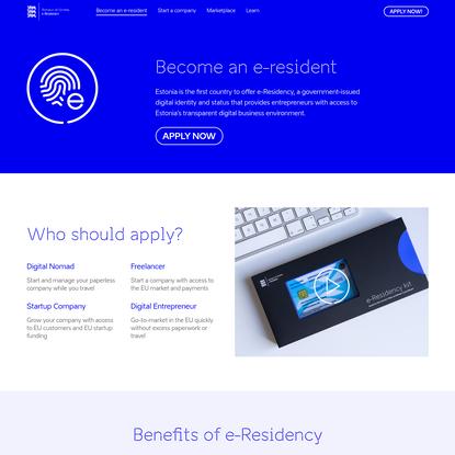 e-Residency Benefits | Digital Nomad, Freelancer, Startup Company