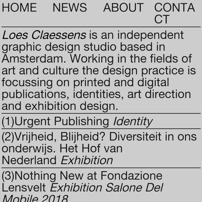 Loes Claessens