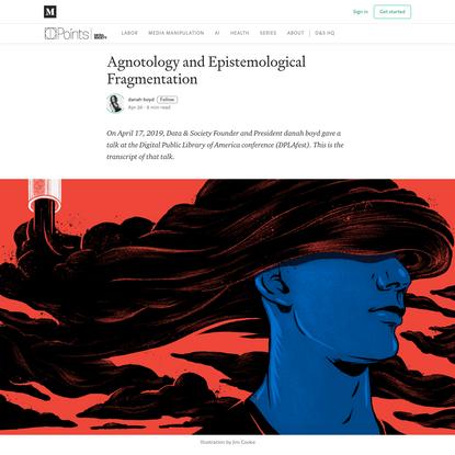 Agnotology and Epistemological Fragmentation