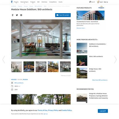 Modular House DublDom / BIO-architects